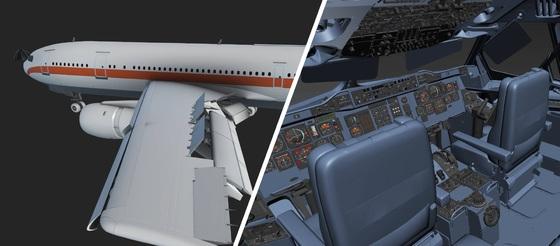 Ein weihnachtlicher Preview-Screenshot des FSLabs A321-X - Artikelbild-Teaser