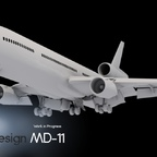 An early first view of the TFDi Design MD-11