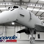 Das zweite sehr frühe Rendering der Aeroplane Heaven Concorde