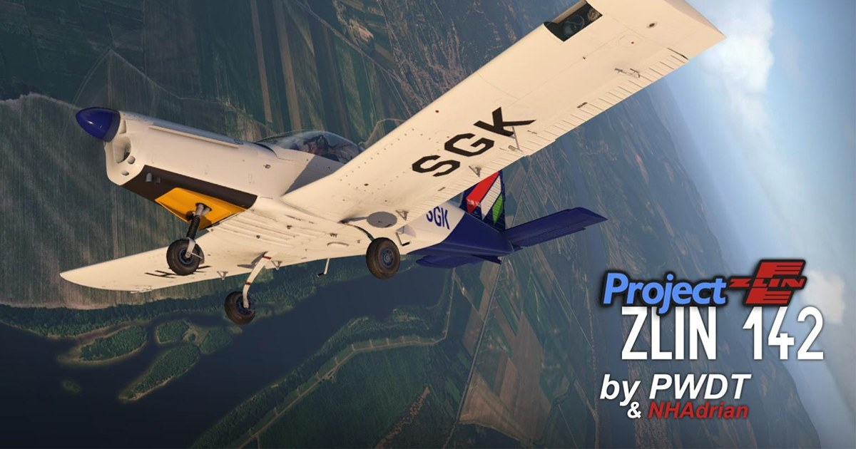 PWDT Zlin-Z142 released in v1.4 - Featured Image