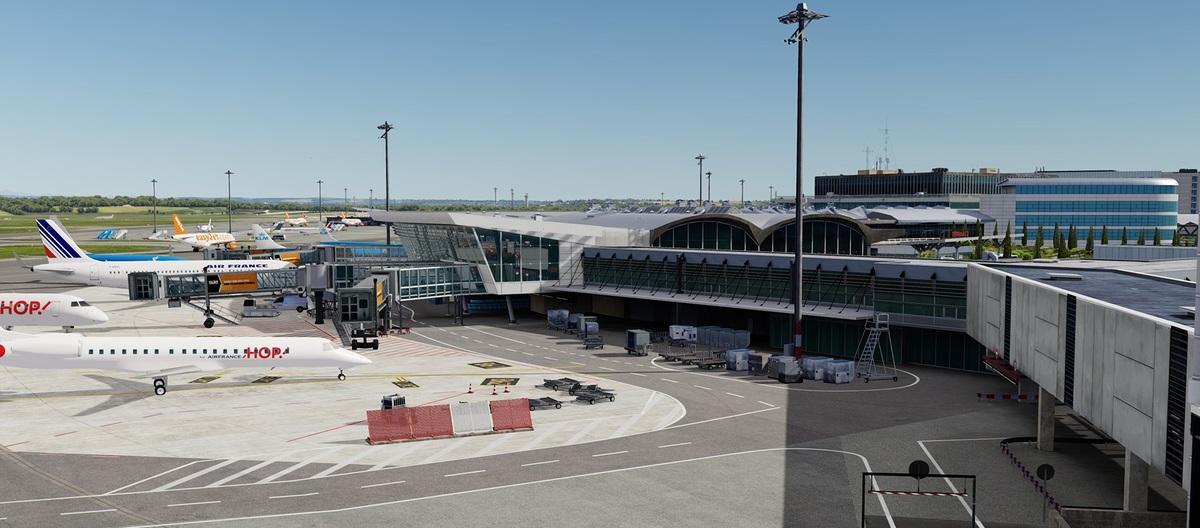 Das Terminal von Digital Design Lyon für Prepar3D