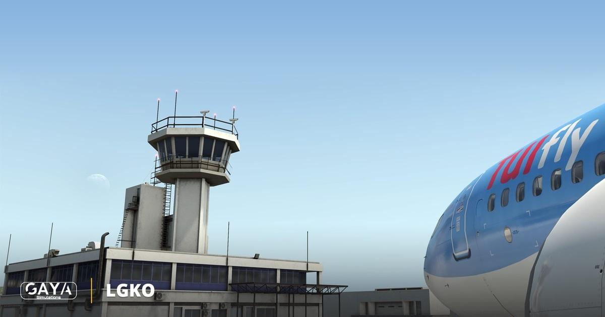Gaya Simulations releases Kos für X-Plane 11