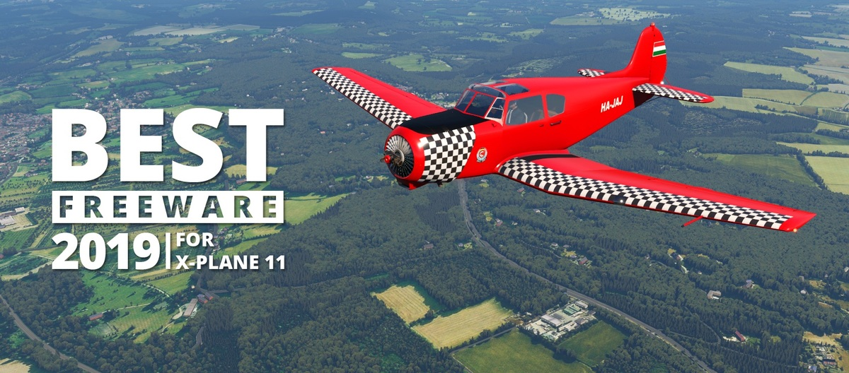 Our compilation of the best freeware 2019 for X-Plane 11.