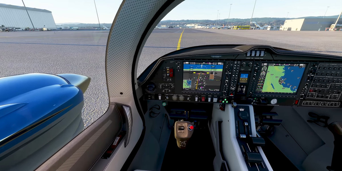 There will be no shortage of standard aircraft pilots of Microsoft FS2020: A Diamond DA62 is also included.