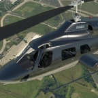Featured picture of the first previews of the upcoming Cowan Simulation Bell 222 for X-Plane 11